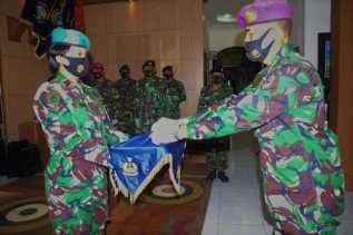 Letkol Marinir Dadan Solahudin S.AG Resmi Jabat Kadisminpers Lantamal IV