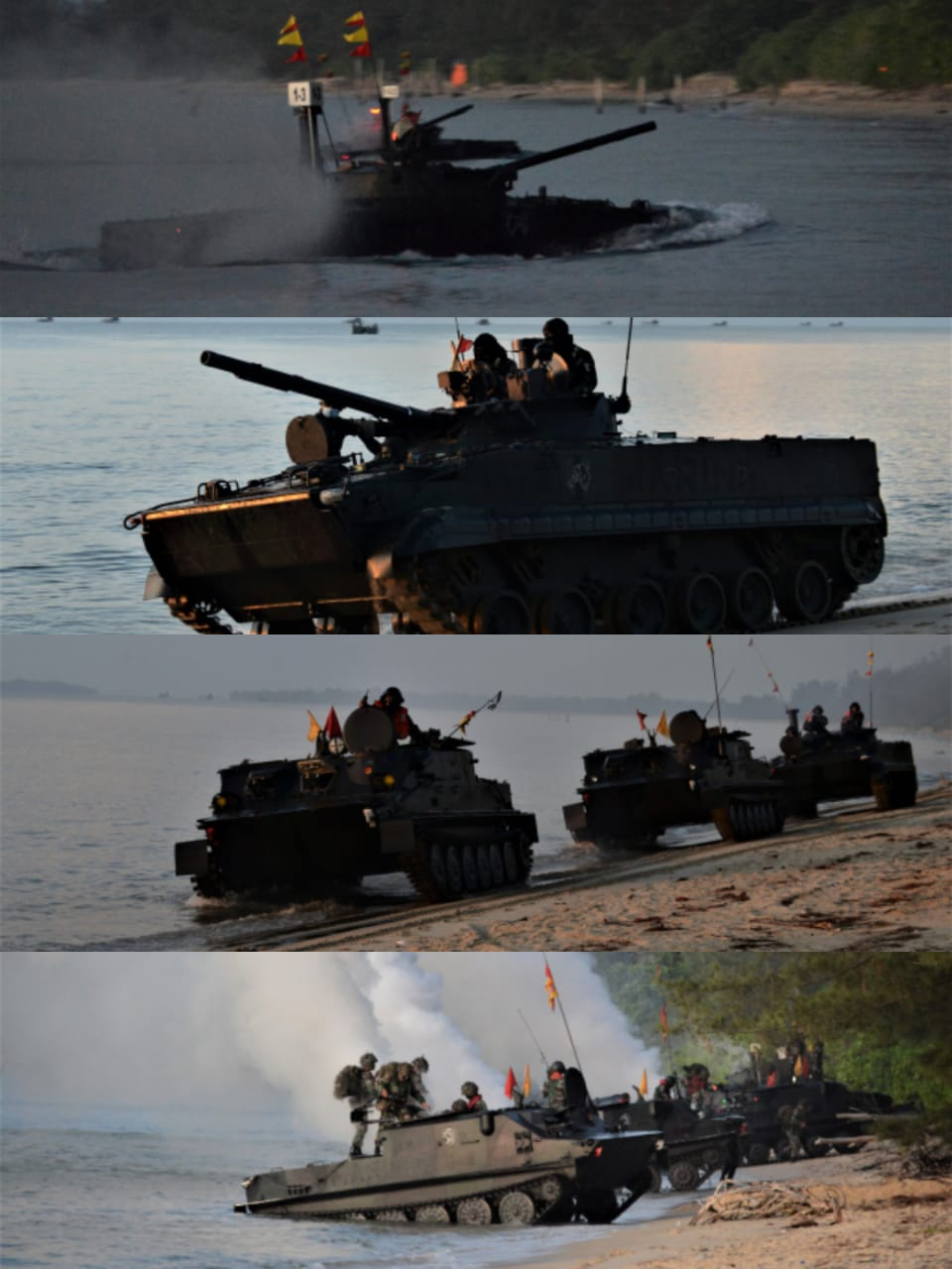 Pasrat Korps Marinir Rebut Pantai Todak Dabo Singkep