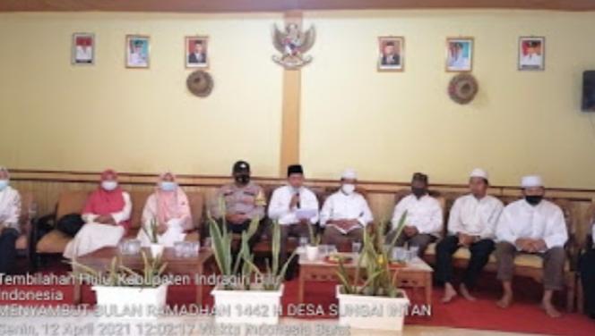 Lima Cara Sukseskan Ramadhan, Ahmad Efendi : Lima sukses ramadhan ini Yang Kita Harapkan Bulan Ramadhan Menjadi Tempat Mulia dan Bulan Yang Penuh Rahmat Bagi Masyarakat Desa Sungai Intan