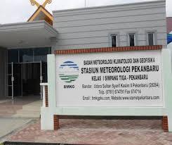 BMKG Stasiun Pekanbaru Sebut di Riau Tidak Terdapat Hotspot atau Titik Panas