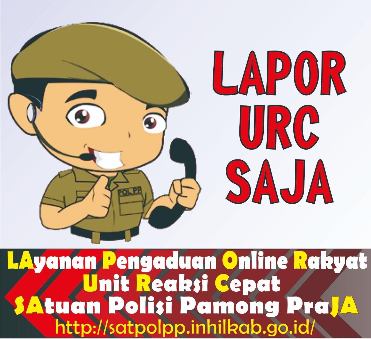 Satpol PP Inhil Buat Sistem Pengaduan Berbasis Website 'LAPOR URC SAJA'