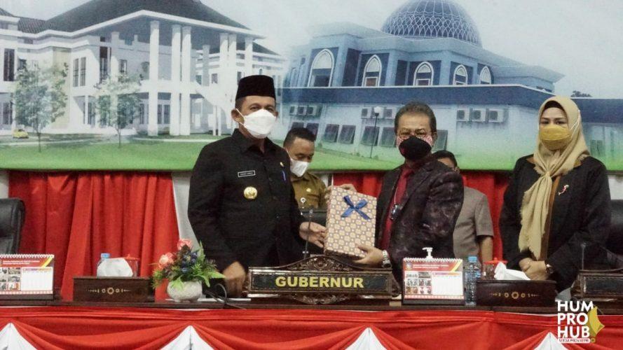 Ansar Ahmad Sampaikan Ranperda RPJMD 2021-2026